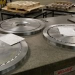 Precision Machined Steam Diaphragms and Power Gen Components