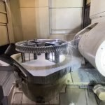 Spur gear machining